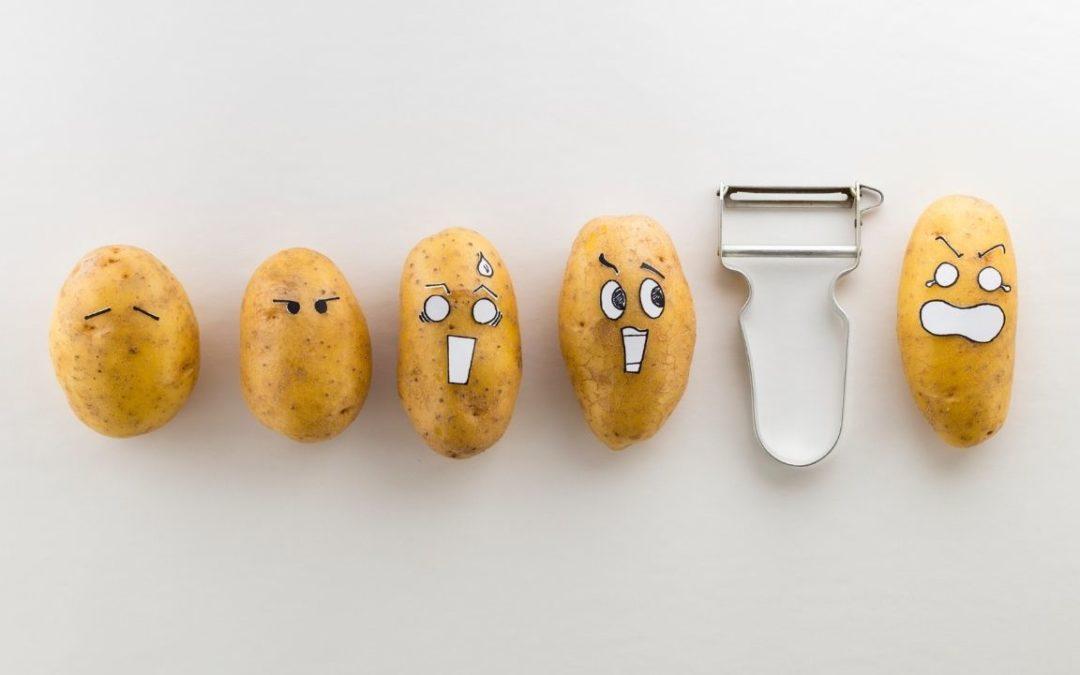 Recette de chips d'épluchures de pommes de terre